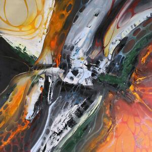 Unikat Moderne Malerei Abstrakt Öl auf Leinwand Bild Kunst von Bozena Ossowski