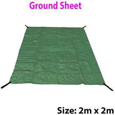 2m x 2m 110gsm In tessuto Impermeabile Foglio di terra UV-Tenda da Campeggio Picnic TELONE