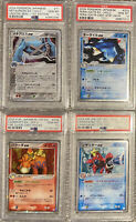 X4 PSA 10 Card Lot Holo Old Japanese ex PCG/ADV Pokemon Graded Collection