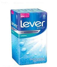 Lever 2000 8 Pack of Soap 4 oz Bars Original Formula - Brand New