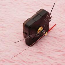 4X Wanduhr Quarz Uhrwerk Mechanismus Reparatur Set Diy Hände Kit Schwarz  T B9O2