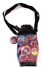 Marvel Civil War Captain America Light Up Carry On Water Bottle Holder NEW