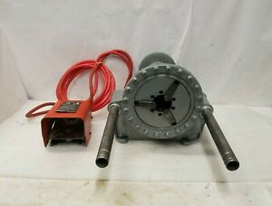 """Ridgid 300-T2 Pipe Threader 1/2""""- 2"""" 1/2 HP 115V For/Rev With Foot Pedal"""