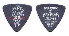 Metallica Robert Trujillo Black Album Black Bass Guitar Pick - 2012 Tour