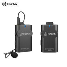 Boya By-Wm4 Pro K1 2.4Ghz Wireless Lapel Microphone for Camera Smartphone K2K1