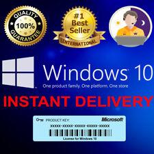 Windows 10 Pro key Professional 32/64bit Genuine Activation License Code Key