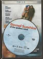 Eternal Sunshine of the Spotless Mind (Dvd 2004 Widescreen) U.S. Issue Disc Only