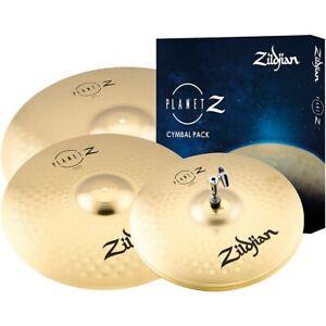 """Zildjian Planet Z 14"""", 16"""", 20"""" Complete Cymbal Set"""