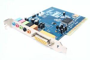 Hercules Muse 5.1 DVD Gamesurround PCI Computer Sound-Card Audio Card Midi Port