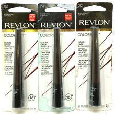 (3) Revlon Colorstay Liquid Liner New & Sealed 252 - Black Brown