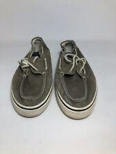 West Marine Mens Canvas Deck Shoes Size 13