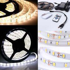 1-10m SMD 3528 5630 LED Stripe Streifen Band Leiste Licht Warmweiss Kaltweiss