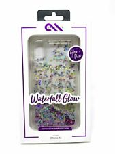 Authentic Case-Mate Waterfall Glow Case for iPhone XR - Purple Clear