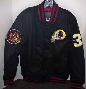 NEW Ultra Game NFL Men's Washington Redskins Snap Up Jacket Coat Size M