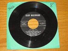"JAZZ 45 RPM - JOE WILLIAMS & COUNT BASIE - CLEF 89171 - ""AMAZING LOVE"" + ""MAGIC"""