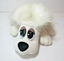 "Pound Puppies White 10"" Plush Stuffed Animal Toy Dog"
