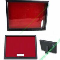 Caja expositor cuadro para navajas placas portafotos colgar pared 32X25  34159