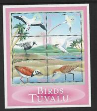 2000 Birds Mini Sheet set of 6 Complete MUH/MNH as issued