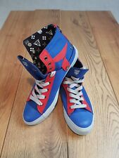 New Transformers Nat-2 Mens Runners Boot Trainers Sneakers UK 9.5 Lace Blue xxyy