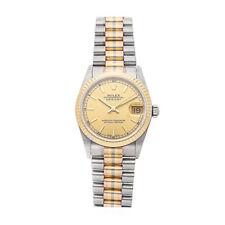 Reloj de pulsera Rolex Datejust Tridor Auto 31mm oro señoras presidente 68279