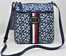 Tommy Hilfiger Striped Women Shoulder Bag Purse New with Tags