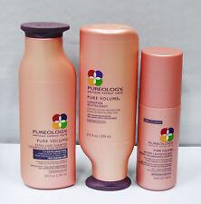 Pureology Volume Extra Care Shampoo Conditioner Levitation Mist Set 3 Piece Set