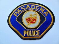 Vintage Pasadena, California Police 1st Issue Cheese Cloth Patch 1990's? Used