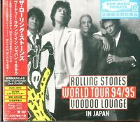 ROLLING STONES-VOODOO LOUNGE TOKYO 1995-JAPAN DVD+2 SHM-CD+BOOK R38 qd
