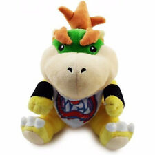 "Baby Bowser Jr 7"" Plush Super Mario Bros. Little Buddy Toy Stuffed Doll Koopa"