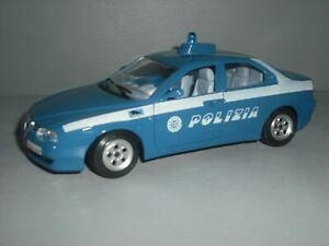 Bburago Alfa Romeo 156 Polizia 1/24th scale