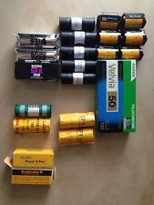 Film Bulk Lot 120 35mm Ektachrome Velvia Ektar Ilford FP4 PanF SFX Lomochrome