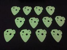 Swiss Picks - Guitar Picks - ATOMIC - Glow In The Dark !! .80.mm - Dunlop Who?