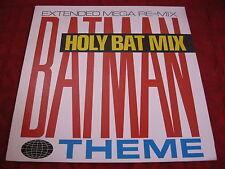 "12"" MAXI SERIE TV Richard Norris Batman Theme 1966 UK 1988"