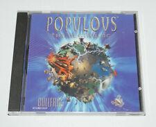 Populous The Beginning PC CD-ROM Retro Gaming Original Release RARE