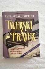 prayer Book Hebrew Siddur Jewish English Judaica rabbi abraham twerski Md