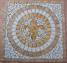 "Floor Marble Travertine Tile Medallion Design Stone 30x30""  #64a"