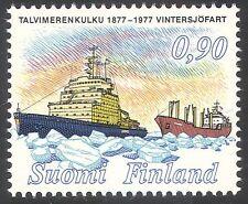 Finlandia 1977 Navi rompighiaccio// barca/nautica/Trasporto/MARITTIMA 1 V (n23803)