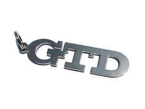 GTD Keychain Key Chain Keyring 4 5 6 V6  GTD GT TDI