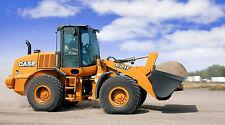 "CASE 621 F RUBBER TIRE LOADER CONSTRUCTION LARGE 43"" x 24"" HD SHOP POSTER PRINT"