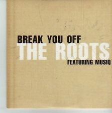 (CW182) The Roots ft Musiq, Break You Off - 2002 DJ CD