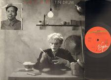 JAPAN Tin Drum LP 1981 DAVID SYLVIAN Richard Barbieri MICK KARN E#D