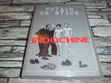 INDOCHINE  /   PUTAIN DE STADE  / DOUBLE DVD + LIVRE