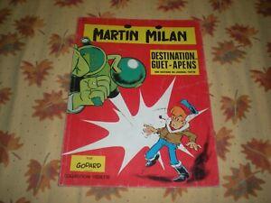 MARTIN MILAN N°1 DESTINATION GUET-APENS - EDITION ORIGINALE 1971 VEDETTE 8