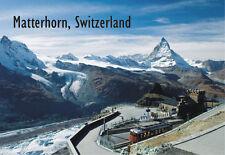 Matterhorn, East Side, Swiss Alps, Switzerland, Souvenir Fridge Magnet EU651