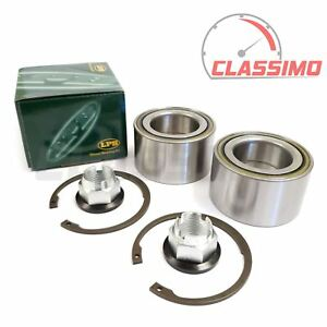 Front Wheel Bearing Kit Pair for VAUXHALL MOVANO X70 - all models - 2000-2010