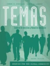 Workbook/Lab Manual for Temas: Spanish for the Global Community, 2nd