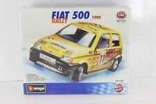 BURAGO DIE-CAST METAL KIT 1/24 FIAT 500 RaLLY 1994 COD.5594 BURAGO