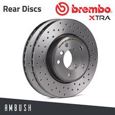 2x Brembo Brake Discs Set BRAKING Pair 0891631X P OE Replacement