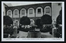 833.-CORDOBA -63 Patio del Museo Provincial de Bellas Artes(L. Roisin Fotógrafo)