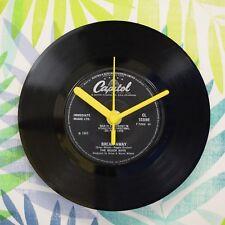 "Beach Boys 'Break Away' Retro Chic 7"" Vinyl Record Wall Clock"